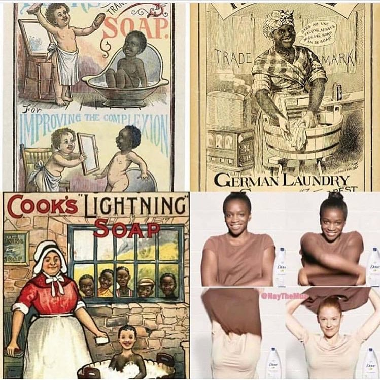 Racist soap ads of the 19th century